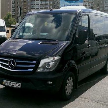 277 Микроавтобус Mercedes Sprinter 316 NEW чёрный VIP