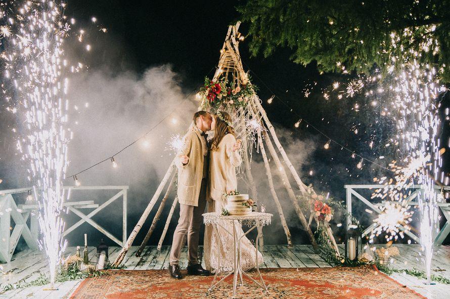 Фото 17658280 в коллекции Свадьба в летнем лагере в стиле Бохо Саши и Ульяны. - Организатор и координатор Новикова Алёна