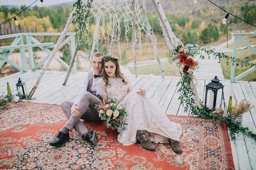 Фото 17658288 в коллекции Свадьба в летнем лагере в стиле Бохо Саши и Ульяны. - Организатор и координатор Новикова Алёна