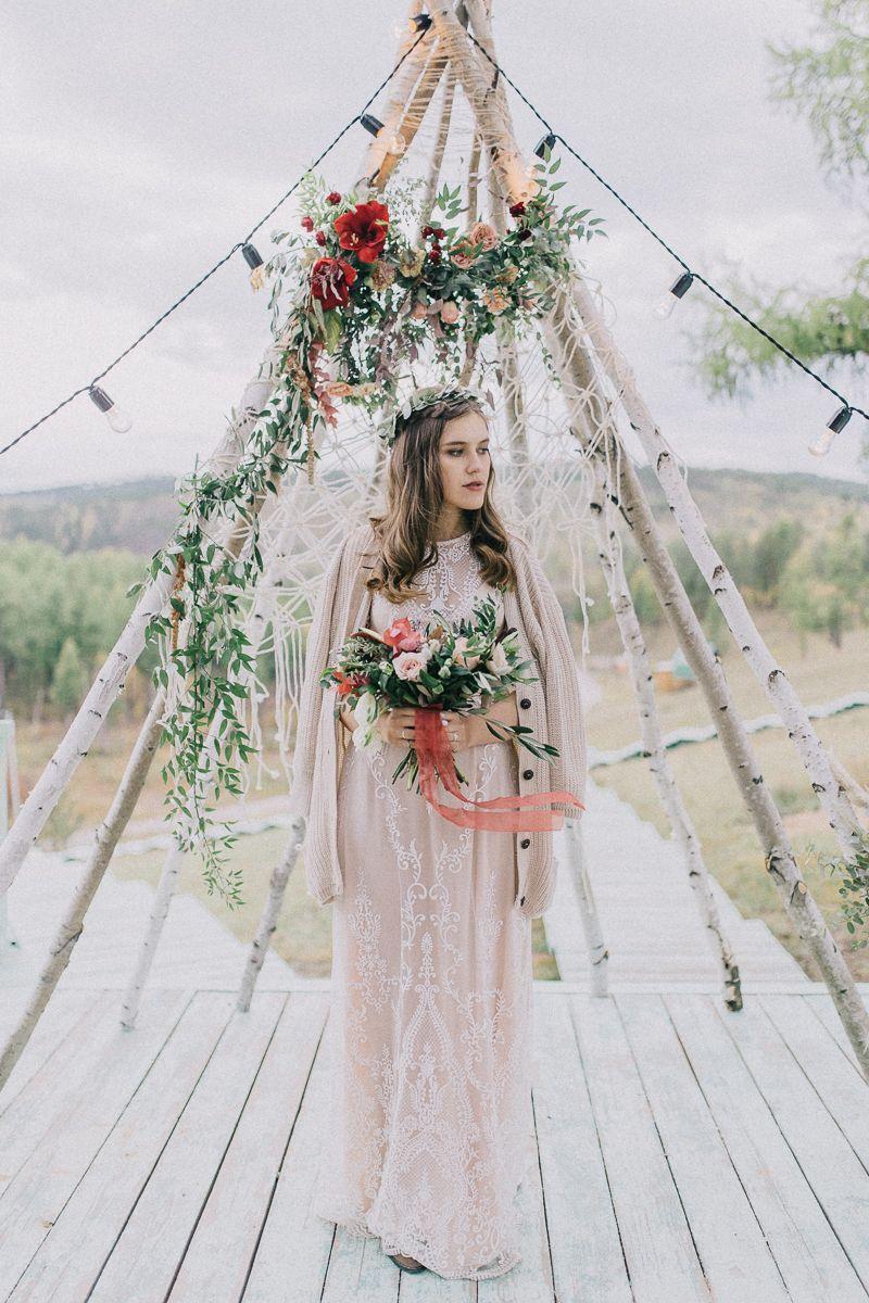 Фото 17658290 в коллекции Свадьба в летнем лагере в стиле Бохо Саши и Ульяны. - Организатор и координатор Новикова Алёна