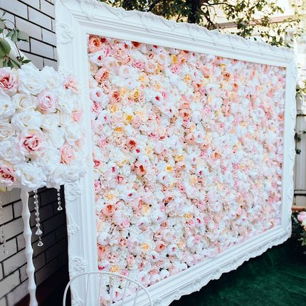 """Flower wall """"Нежная"""""""
