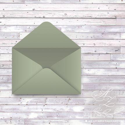 Конверт из дизайнерской бумаги