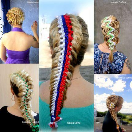 """Плетение кос """"Косы с канекалоном"""""""