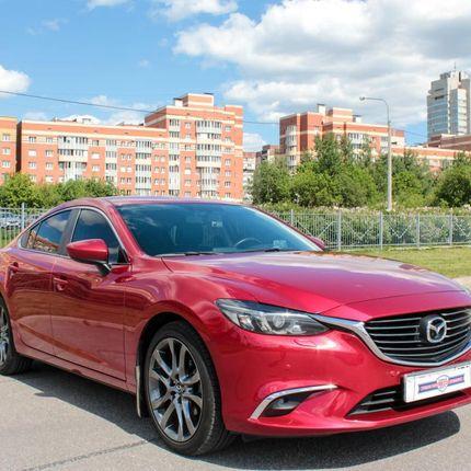 Аренда авто Mazda 6, 1 час