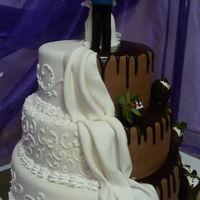 """Торт """"Две половинки"""", 1 кг"""
