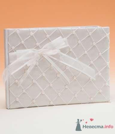 Книга пожеланий. Жемчуг - фото 53560 RosyDog – свадебные аксессуары из Америки и Европы