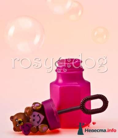 Свадебные мыльные пузыри Мишки - фото 87612 RosyDog – свадебные аксессуары из Америки и Европы