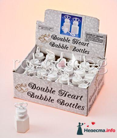 Свадебные мыльные пузыри Сердце - фото 87616 RosyDog – свадебные аксессуары из Америки и Европы