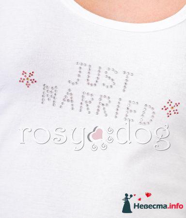 Майка для медового месяца Just Married - фото 89985 RosyDog – свадебные аксессуары из Америки и Европы