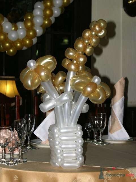 Фото 54297 в коллекции Оформление воздушными шарами - Невеста01