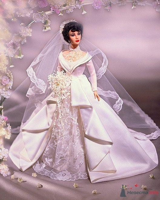 Кукла ЛИЗ ТЕЙЛОР в свадебном наряде - фото 54775 Incognito