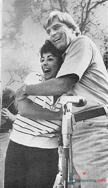 Лиз Тейлор и её муж №7 -  респектабельный Джон Уорнер - фото 56048 Incognito