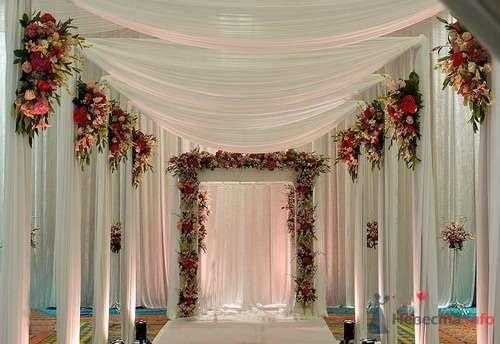 Фото 57844 в коллекции Варианты оформления банкетных залов и выездных церемоний - Incognito