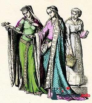 Европейская мода IX-XII веков - фото 131334 Incognito