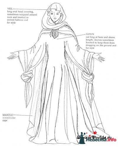Платье 12 века - фото 131341 Incognito
