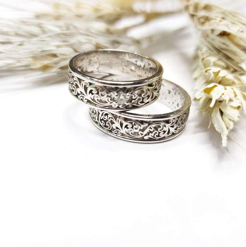 Фото 17781630 в коллекции Обручальные кольца - Ювелирный салон Золотой Век