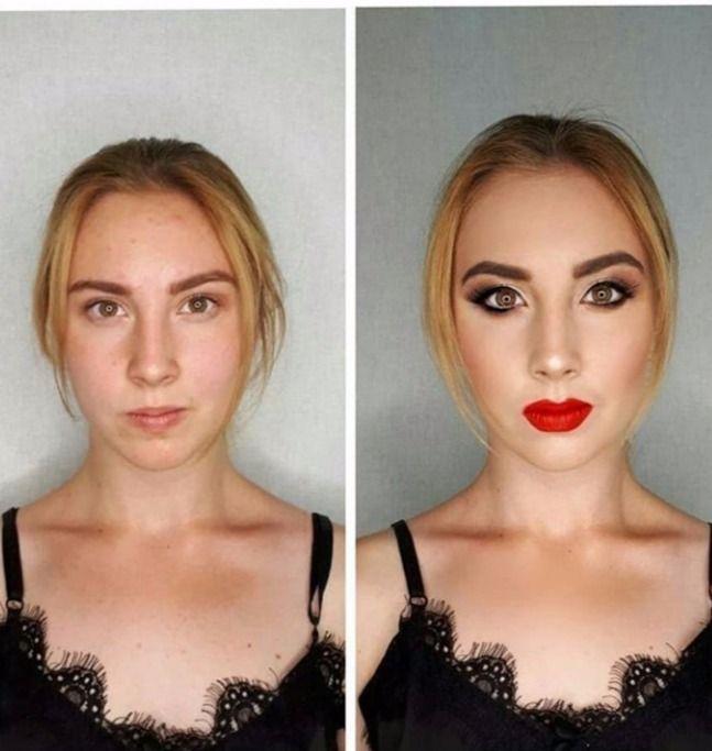 Голливуд. Красные губы и смоки - фото 17799660 Стилист-визажист Измоденова Ксения