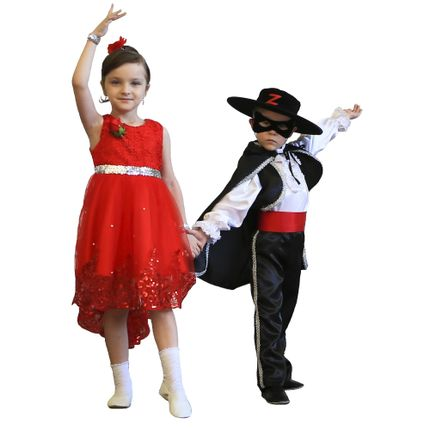 "Детский танец. ""Зорро"""