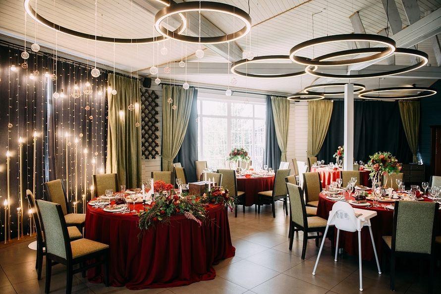 Фото 19747307 в коллекции Банкетный зал ресторана - Загородный клуб Fisherix/Фишерикс