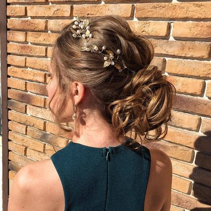 Причёска для невест