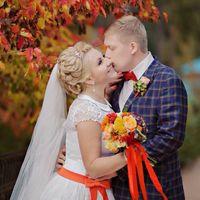 """Букет невесты - свадьба в стиле """"ORANGE"""""""