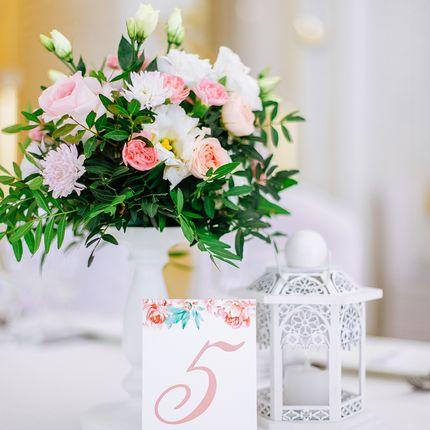 Оформление свадьбы №2, до 35 гостей.