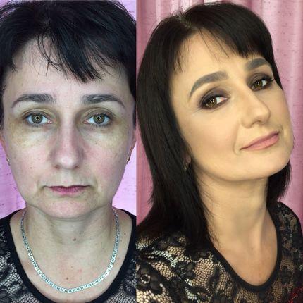Возрастной (лифтинг) макияж