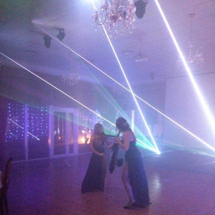 Скрипичное лазерное шоу