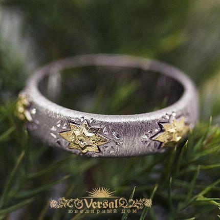 Парные обручальные кольца, артикул VGOK0168