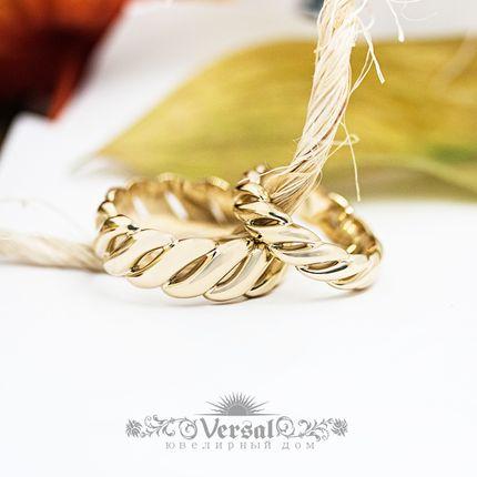 Парные обручальные кольца, артикул VGOK0180