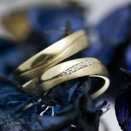 Парные обручальные кольца, артикул VGOK