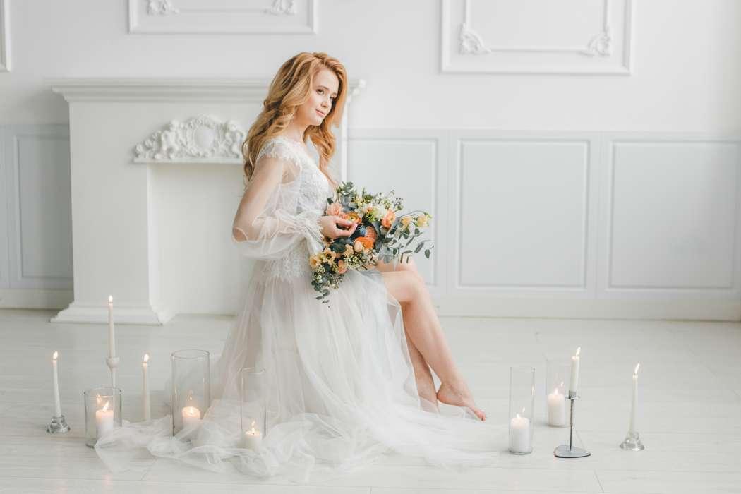 сверхранний утро невесты фото в студии сновидения