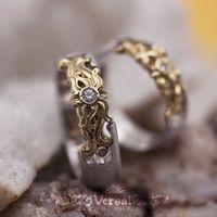 Парные обручальные кольца для обоих