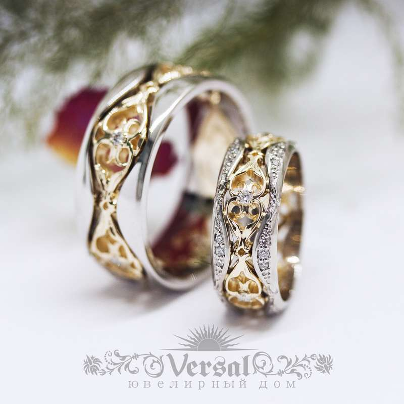 Обручальные кольца Краснодар - фото 18049072 Ювелирный Дом Versal