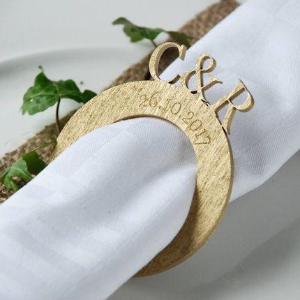 Именные кольца для салфеток