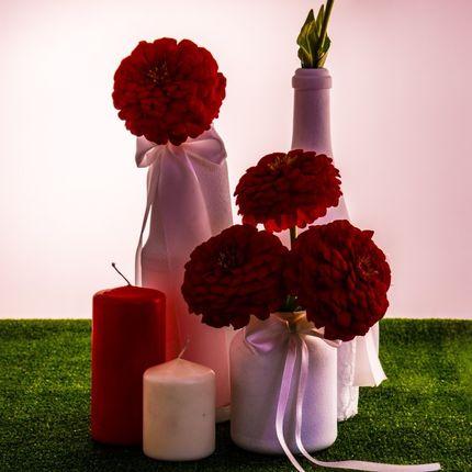 Декоративные композиции на столы гостей, 1 шт.