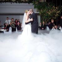 """Тяжелый дым на первый танец """"Танец на облаках"""""""