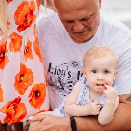 Семейная фотосессия + фотокнига