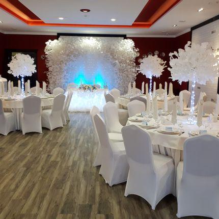 Оформление зала - Зимняя сказка