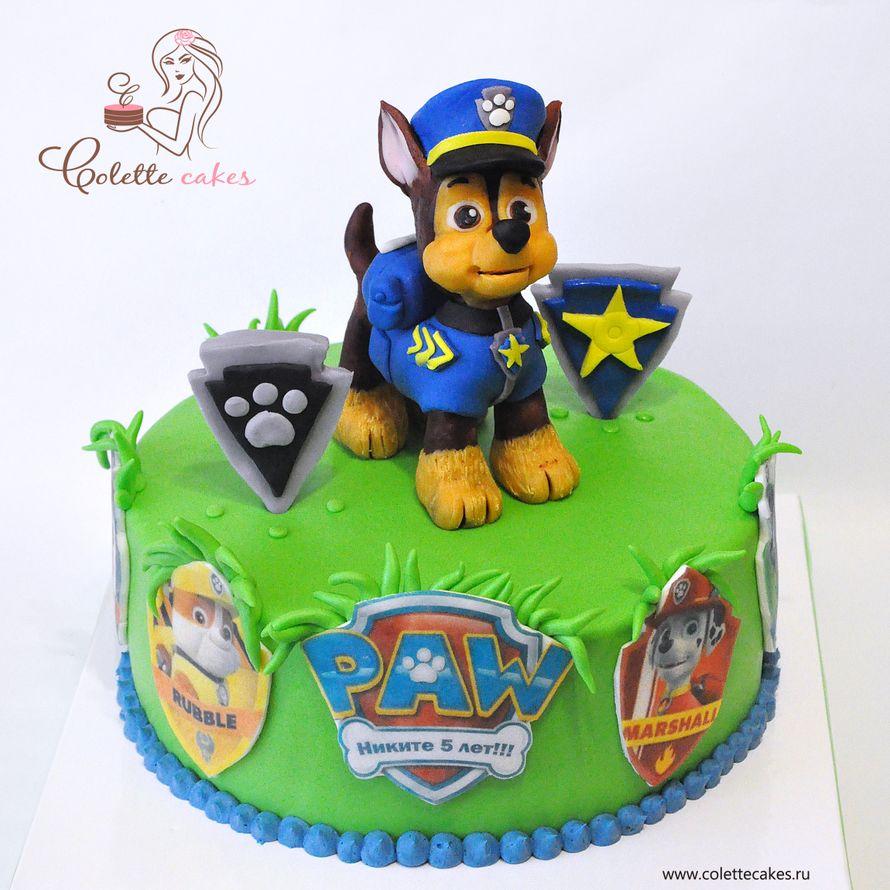 тортики с щенячьим патрулем фото