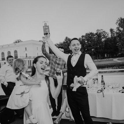 """Организация свадьбы на теплоходе """"под ключ"""", чек на человека"""
