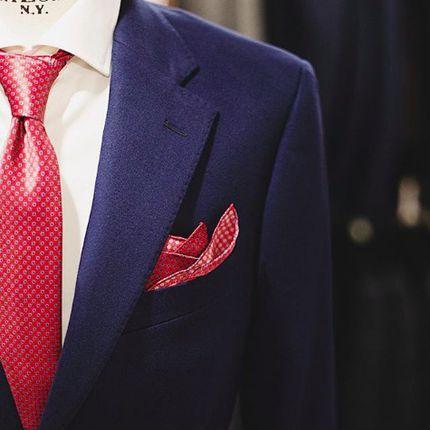 Индивидуальный пошив мужских костюмов