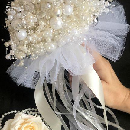Букет невесты из бусин