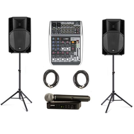 Комплект звукового оборудования №1 в аренду