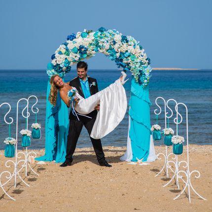 """Организация церемонии """"Морская сказка"""" Сахл Хашиш, Хургада"""
