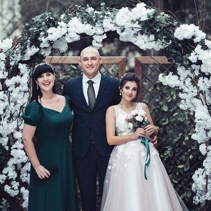 Проведение свадьбы + диджей + живой вокал