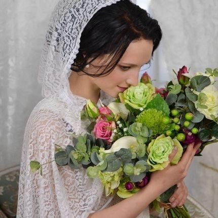 Венчальный платок вместо фаты
