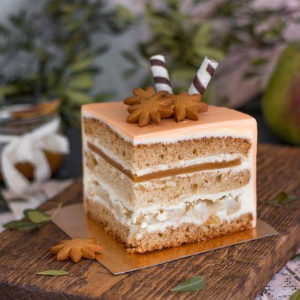 Торт Карамельная груша, 1 кг.