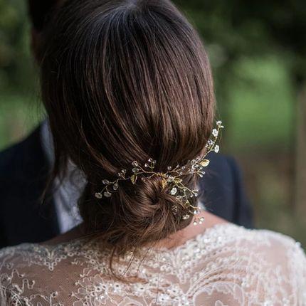 Украшение для причёски невесты