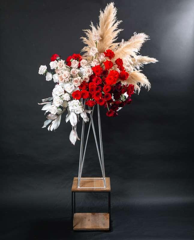 """Фото 18873998 в коллекции Композиции высокие, подвесные, арки, фотозоны - """"Allure"""" - flowers&decor"""